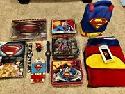 Superman Collection Lunchboxes Blu Ray Watches Cereal Beach Towel Figure