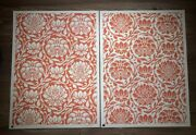 Shepard Fairey Obey Giant Floral Harmony Red Yin/yang Art Print Signed Set X/100
