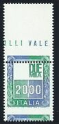 1979 Republic High Values Lire 2.000 Varieties And039syracuse Is Missing
