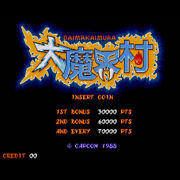 Used Dai Makai-mura Ghouls'n Ghosts Sub Board And Mother Board 1988 Jamma Cps-1