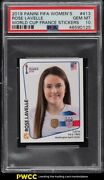 2019 Panini Fifa Womenand039s World Cup France Stickers Rose Lavelle 413 Psa 10 Gem
