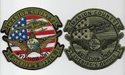 Aviation Marion County Sheriff Set Florida Fl Subdued And Color Police Airwing