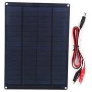 10w Solar Panel Kits Waterproof Portable Power Charger Photovoltaic Panel Set