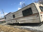 Trailer Frame 3 Wheel Axils Tiny Home Hauling 5th Wheel Camper Hit Rv Part Out