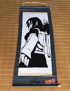 Naruto Shippuden Itachi Shinden Hanging Scroll Tapestry Limited / Not For Sale