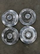 Ford Galaxie Fairlane Police Fomoco Hubcaps Wheel Covers Center Caps Vintage