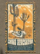 Chris Stapleton Official Acl Austin Tx 2017 Tour Poster Signed And Numbered /200