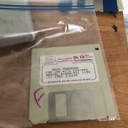 Rare Dr. T's Music Software For Atari St Kcs Bach Songbook Midi Music 520/1040 F