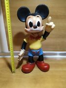 Rare Vintage 1964 Walt Disney Productions Mickey Mouse Large Rubber Toy