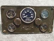 Original M Series Instrument Gages And Panel. Gages The Same As M38 Jeep