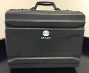 Minolta Cm-2002 Portable Spectrophotometer And Carrying Case