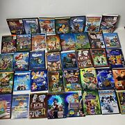 Disney Blu Ray Dvd Classics Lot Of 55 Lion King Toy Story Peter Pan Alice Frozen