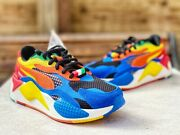 Rs-x3 Rubiks Cube Limited Shoes 374028-01 Youth Child Rubix Rare