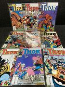 The Mighty Thor 371 To 380 Marvel Comic Book Lot 10