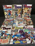 The Mighty Thor 390 To 398 Marvel Comic Book Lot 9