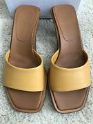 Neous Ladies Mules Yellow Size5 Rrp400