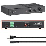 200w Home Audio Subwoofer Power Amplifier Amp Class D Crossover And Phase Control