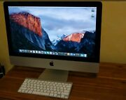 Apple Imac, 128gb Solid State Drive, 12gb Ram, Apple Wireless Keyboard And Mouse