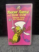 Touche Turtle And Dum Dum Takes Two To Tangle - 8 Episodes- Vhs Video Very Rare