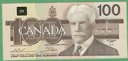 1988 Bank Of Canada 100 Dollars Note - Thiessen/crow - Ajv5014067 - Unc