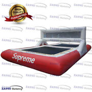 26x13ft Inflatable Supreme Volleyball Court Jumping Sport Game With Air Blower