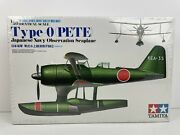 Japanese Navy Observation Seaplane Fim2 Type O Pete By Tamiya 150 Scale  New