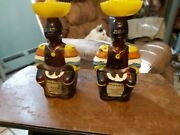 2old Oak Rum Limbo Drummer Decanter Bottle With Label Angostura Bitters Trinidad
