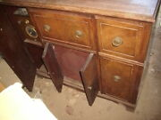 Rare 1940s Silvertone Console Radio With Wire Recorder Sold As Is