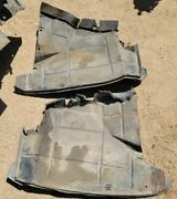 1961 1962 1963 Lincoln Continental Wheel Well Cover Panels Left And Right