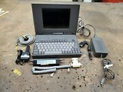 Ultra Ts34x Laptop Vintag Computer Tested Working Cyrix486slc With Accessories