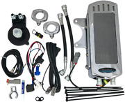 Ultracool Chrome Side Mount To Down Tube Oil Cooler Kits Smsp-1c