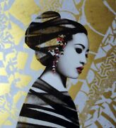Hush 1/20 A/p Asiatic Hand Finished Never Framed Never Displayed