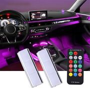 Rgb Led Car Auto Accessories Floor Decorative Atmosphere Lamps Ambient Lights