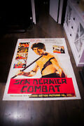 The True Game Of Death Bruce Lee 4x6 Ft French Grande Poster Original 1979