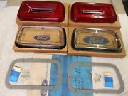 Taillight Bezels Lenses And Gaskets 1970 Ford Galaxie 500 Xl 390/429 Nos