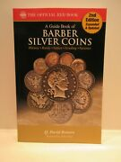 Special Guide Book Of Barber Silver Coins By Q David Bowers 2nd Ed Red Book
