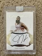 2016-17 James Harden Flawless Auto Autograph Original Seal Rockets Nets 21/25