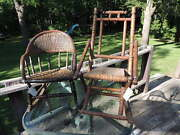 Antique/vintage Child's Rocking Chairs. Very Old. Lot Of 2