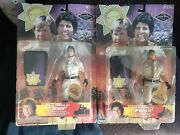 Chips Action Figures Ponch And John California Highway Patrol Error Figures Rare