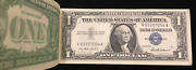 Bank Currency Pack 1957 Silver Certificates And Star Notes 1928 G 2.00 Red Seals
