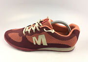 Merrell J55468 Civet Beet Red Casual Light Weight Trainer Womenand039s Sz 11 Us