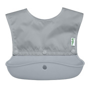 Green Sprouts Snap And Go Silicone Food-catcher Bib   Soft Waterproof Top + Silic