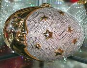 Judith Leiber Crystal Love You To The Moon And Stars Purse Shoulder Bag
