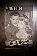 I'll Be Seing You 1949 Original First Post-war Release French Program