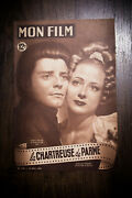 The Charterhouse Of Parma 1949 Original First Post-war Release French Program