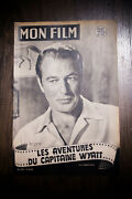 Distant Drums 1952 Original First Post-war Release French Program