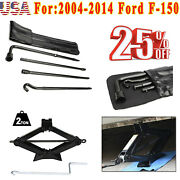For Ford F-150 2005 2006 Replacement Car Repair Tire Tool Kit And Scissor Jack