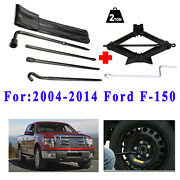 For 2010 2011 Ford F-150 Spare Tire Tool Kit And Scissor Jack Lug Wrench Tools