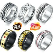 Piano Style Ring Band Spinner Men Women Music Rings Keyboard Style Jewelry Gift