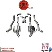 Corsa 14976 304 Ss Cat-back Exhaust System With Split Rear Exit For 10-13 Camaro